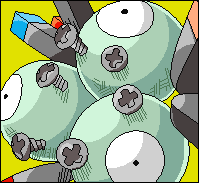 Another S.L. Avatar- Magneton by Superhero-randomness