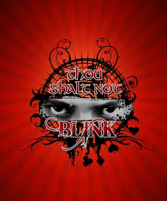 Thou Shalt Not blink Titlecard by eksperimento