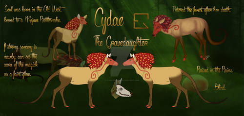 Cydae Reference Sheet