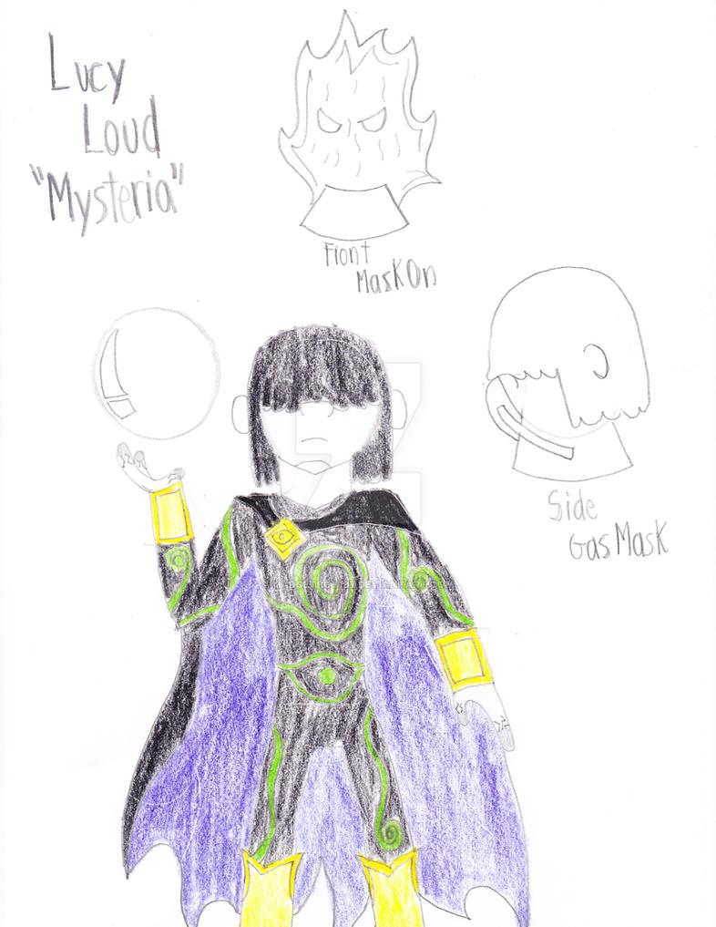Lucy Loud aka- Mysteria by Gadgetboy197