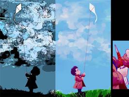 A Boy and His Kite by fuileachd