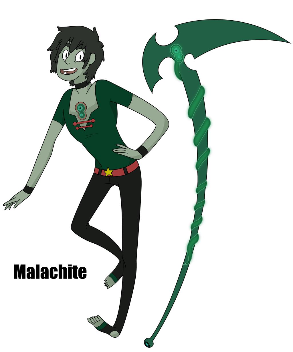 Steven Universe FanOC- Malachite by XombieJunky