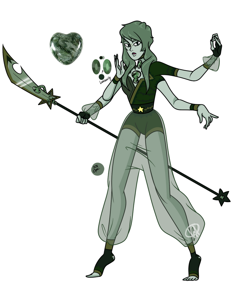 Gem Fusion- Seraphinite by XombieJunky