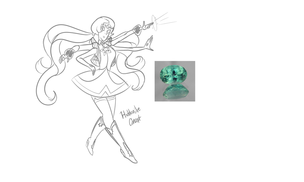 SUOC Fusion Concept- Hiddenite by XombieJunky
