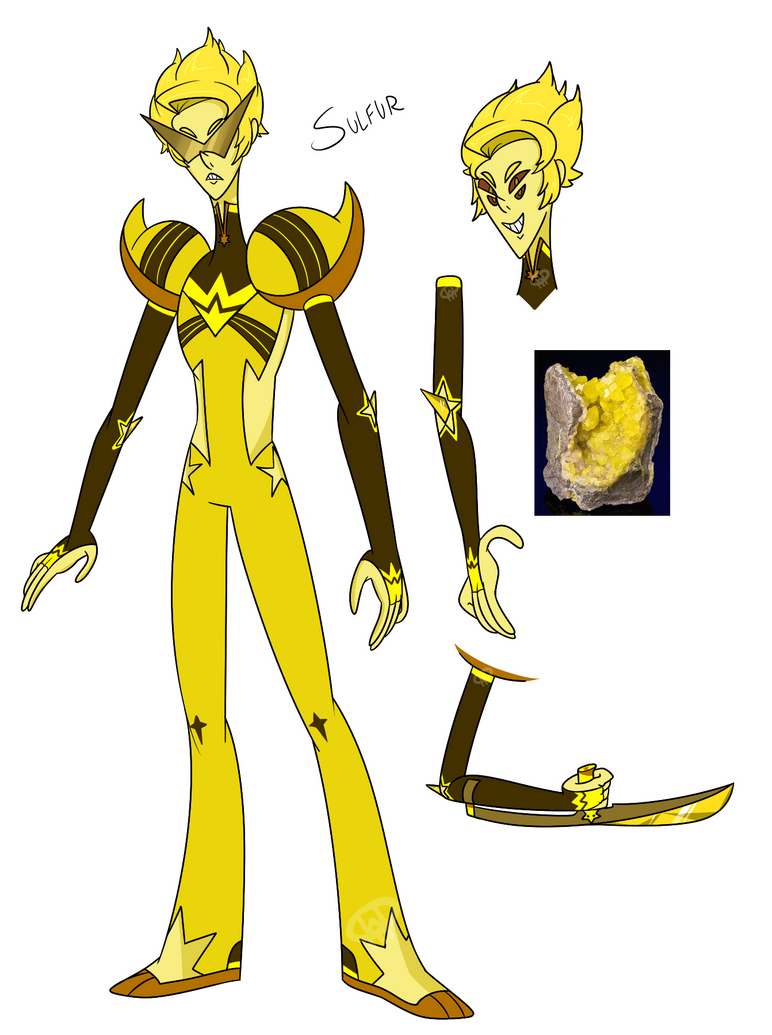 SELLING SUOC- Sulfur by XombieJunky on DeviantArt