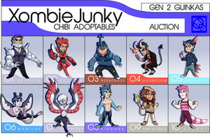 PayPal Pokemon Gijinka Chibi AUCTION (2/10 OPEN) by XombieJunky