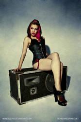Zombina - Loud Speaker II by Wandeclayt