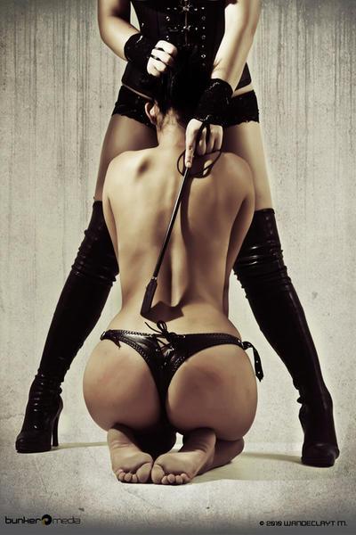 госпожа на рабыне