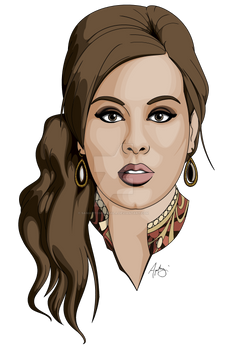 Adele - MS Paint