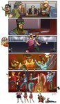 Collab with Ceshira - HSM: Teen Titans/Korra
