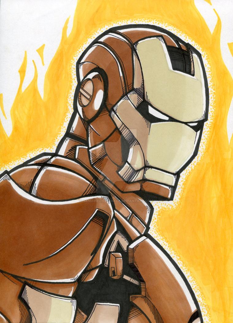 Toasted Marshmallow Ironman by samapitongzabala