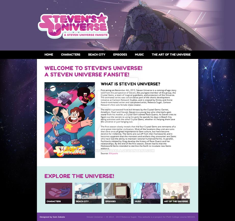Steven's Universe - a Steven Universe Fansite by samapitongzabala
