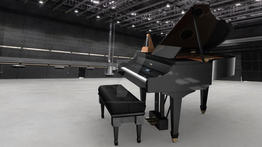 Roland V Piano Grand by samapitongzabala