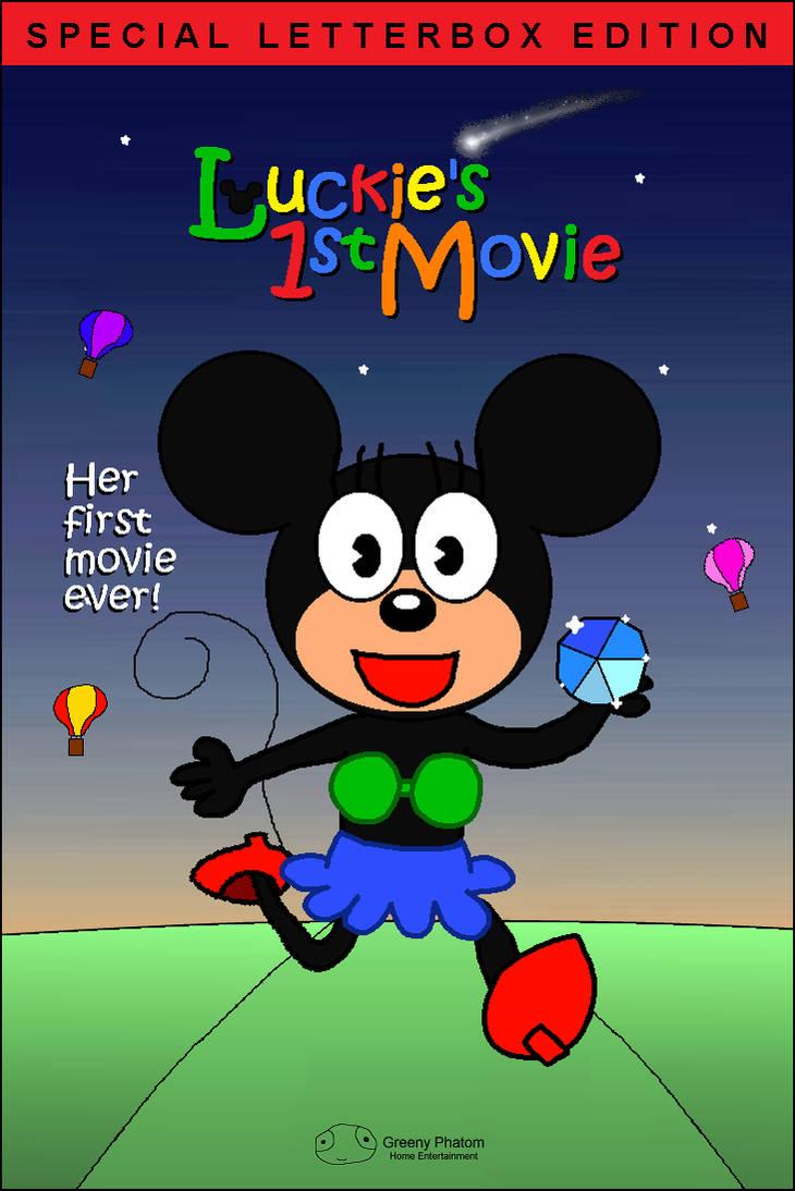 Luckie S 1st Movie Vhs Cover Art 2000 By C E Studio On Deviantart