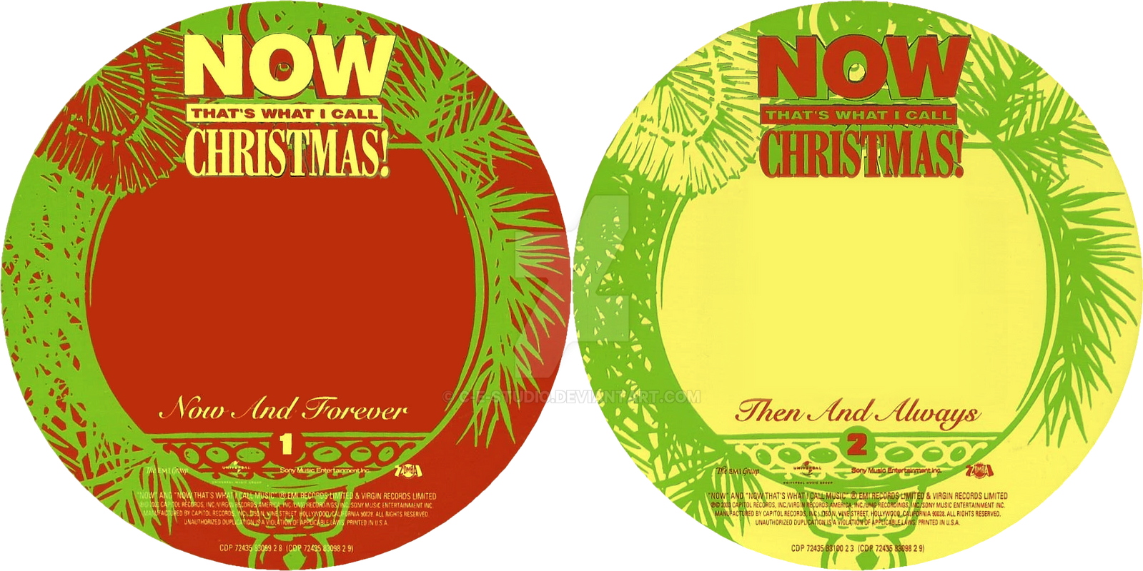 Now That\'s What I Call Xmas Vol. 2 Scans (3-3) by C-E-Studio on ...