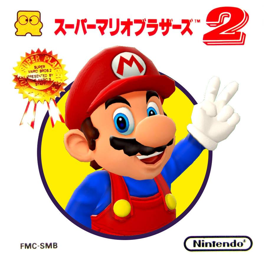 Super Mario 2 The Lost Levels Cover Redesign By C E Studio On Deviantart