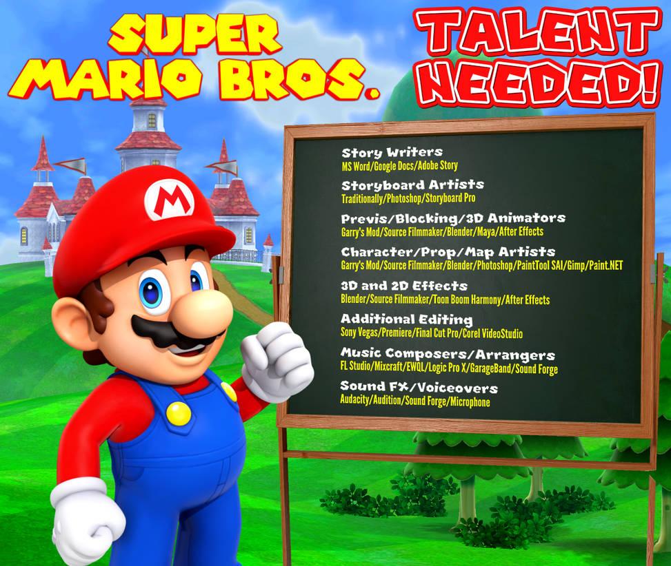 Super Mario Bros Mod Called Mr - Querciacb