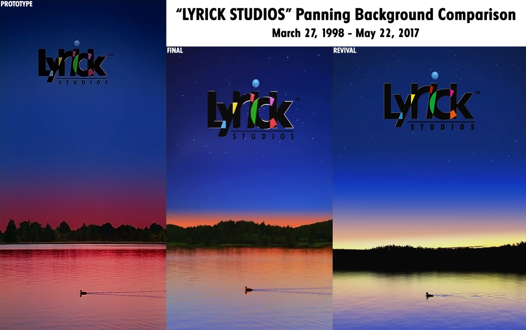 ''Lyrick Studios'' Panning Background Comparison