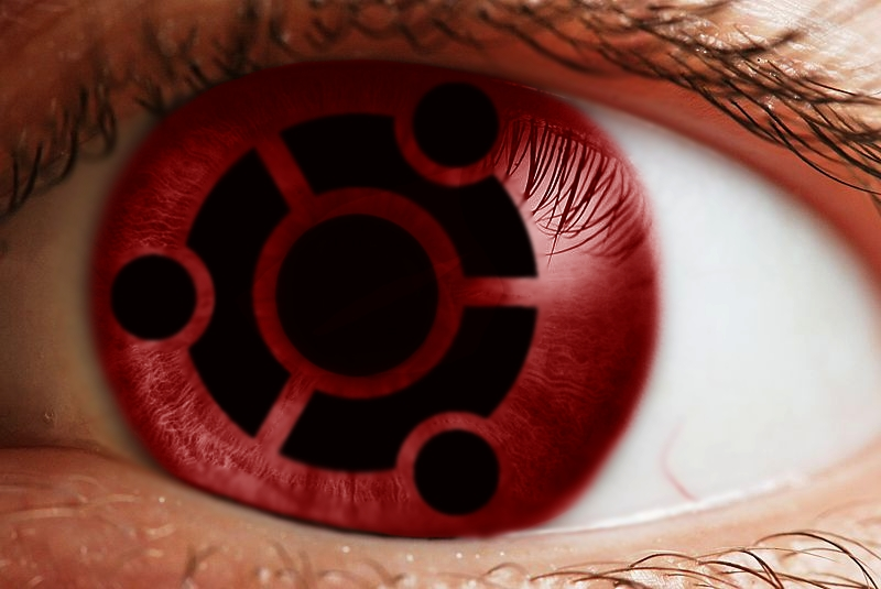 Ubuntu-Mangekyou by Myrskynmurtaja