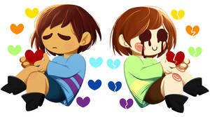Undertale - Frisk and Chara