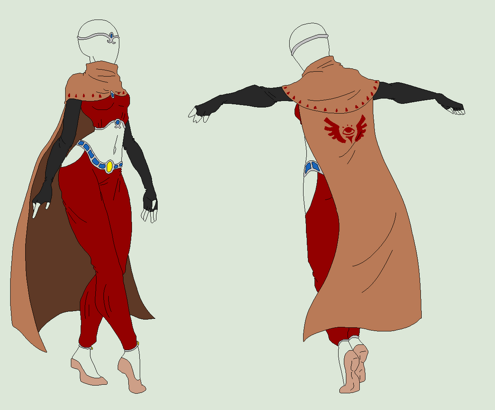 Outfit Adopt - Desert Citizen - SOLD by ShadowInkAdopts