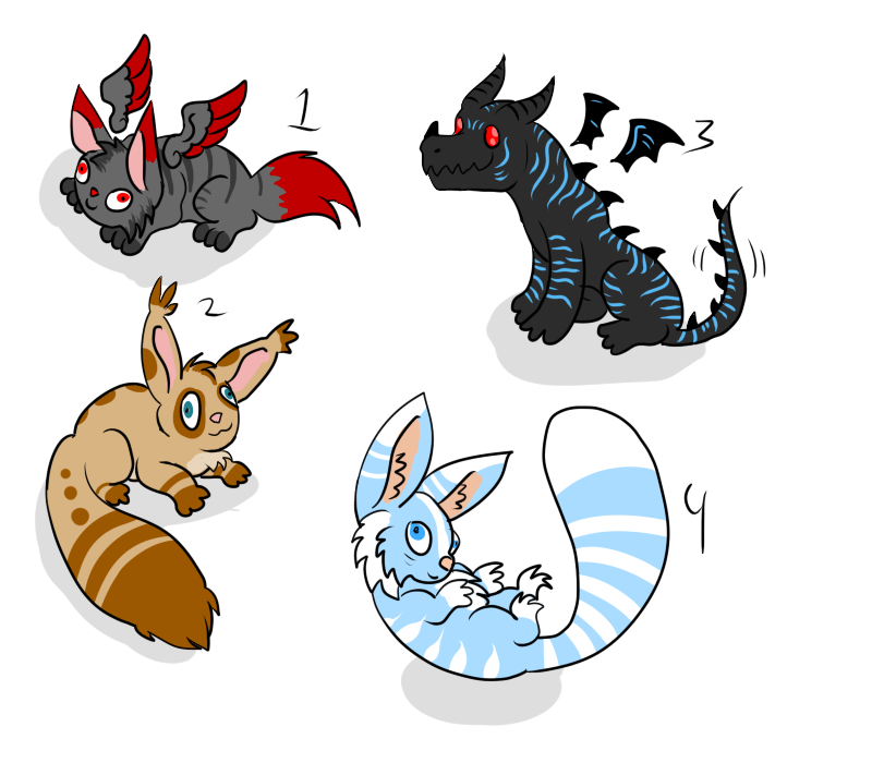 Free Critter Adoptiderps - SOLD by ShadowInkAdopts