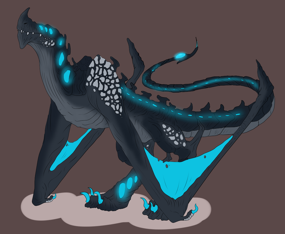 Kaiju Adopt - SOLD by ShadowInkAdopts