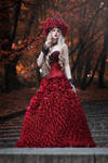 Covered by roses