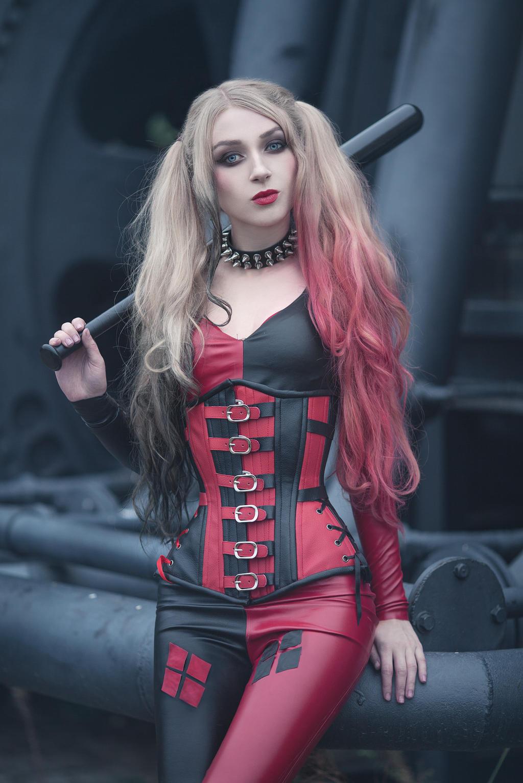 Harley Quinn by absentia-veil