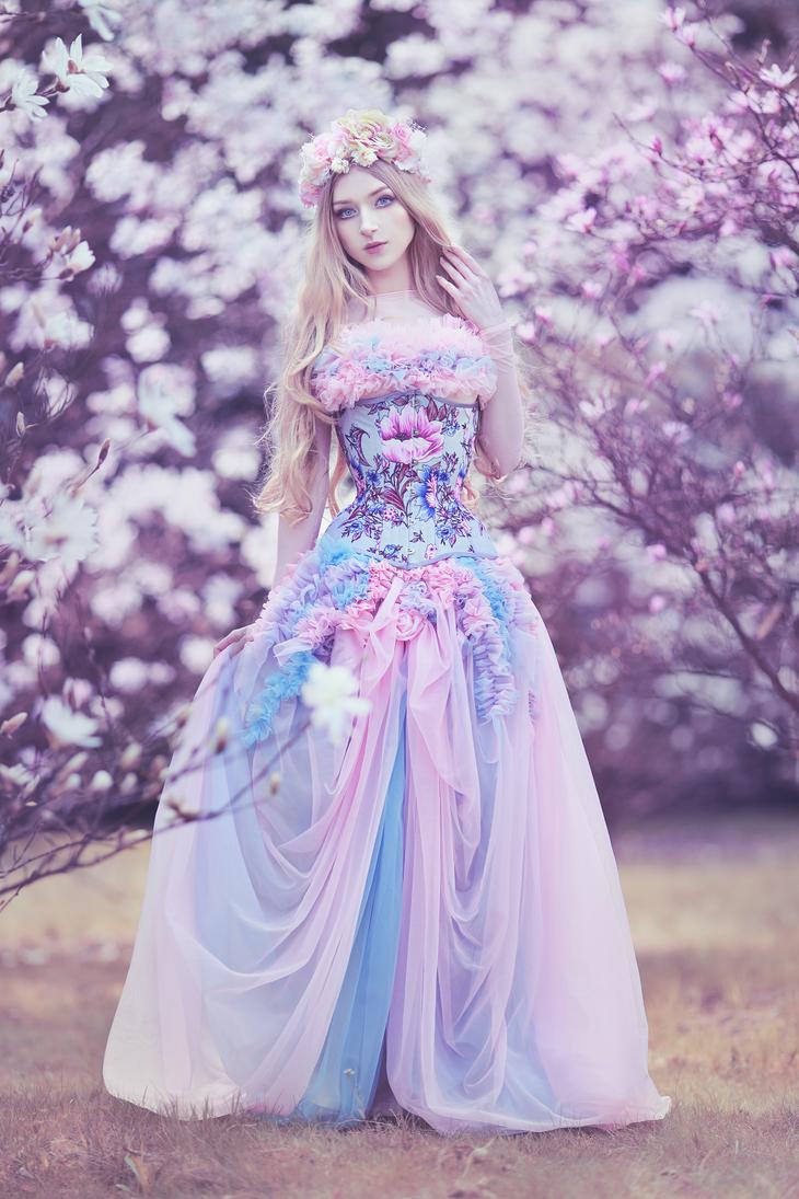 Pastel Garden by absentia-veil