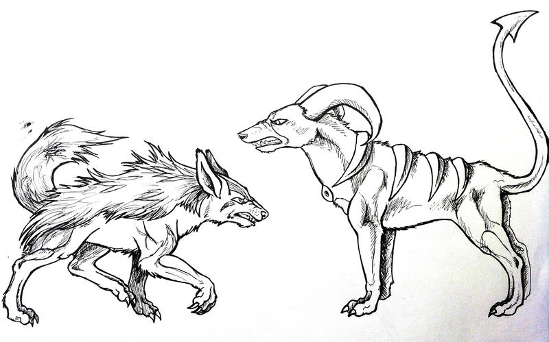 mightyena coloring pages-#20