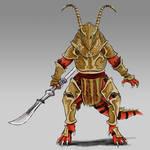 FFTA: Bangaa Dragoon Concept