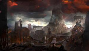 god of war III : Destroyed by jungpark