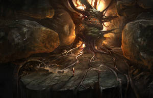 God of war III: gaja heart by jungpark