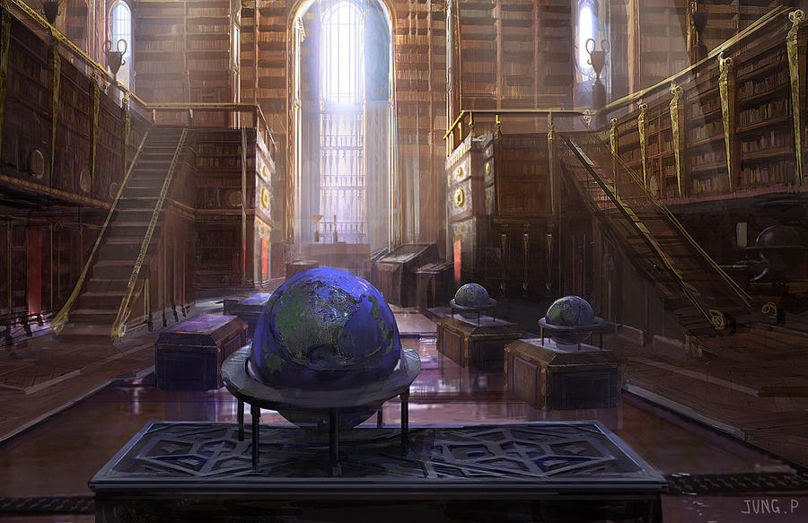 Library by jungpark
