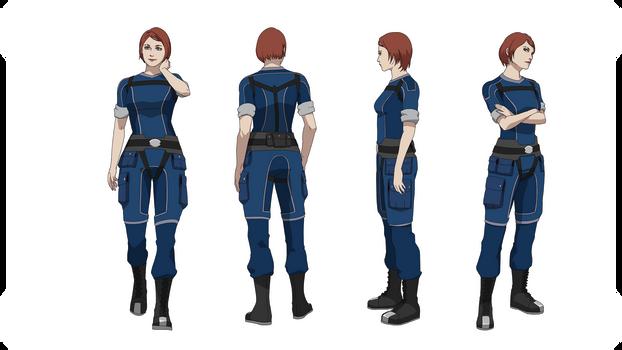 ME1:Commander Shepard (Crewman's outfit)