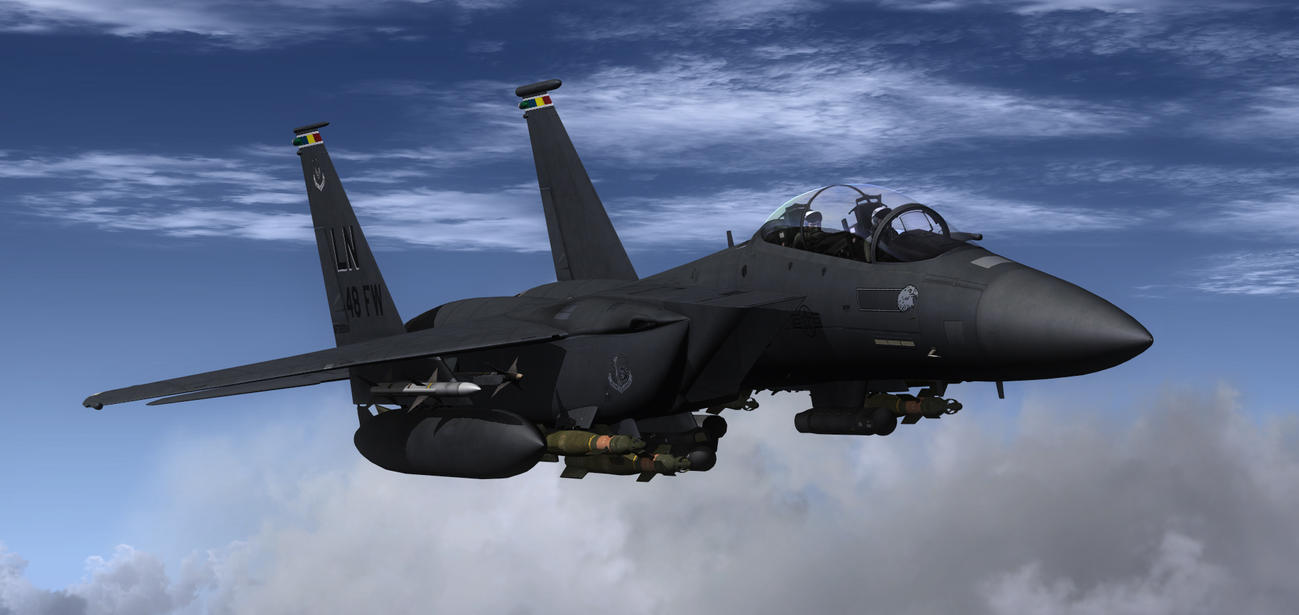 F-15E Lakenheath 10 by agnott