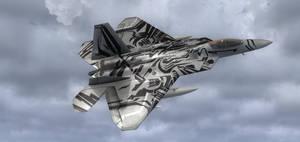 Starscream Raptor in FSX 1