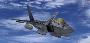 Starscream Raptor in FSX 4