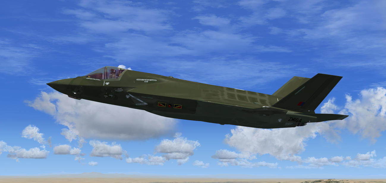 F-35B RAF 4 Sqn Green 1 by agnott