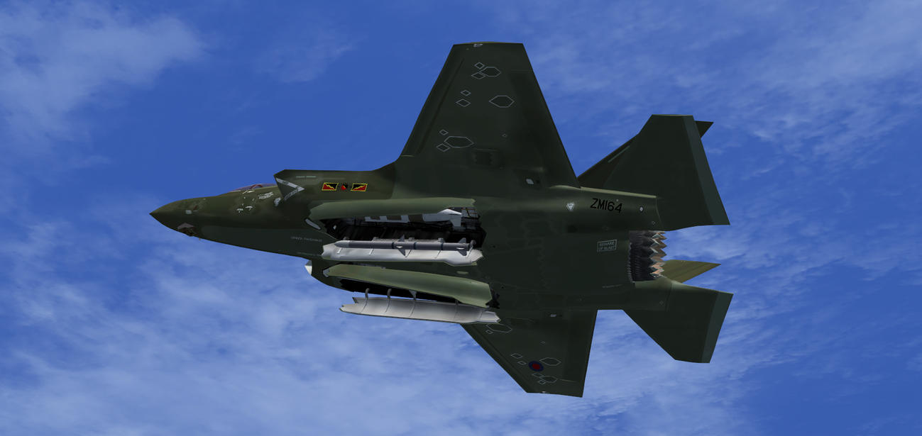 F-35B RAF 4 Sqn Green 2 by agnott