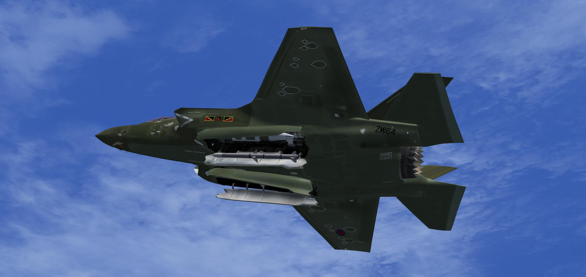 F-35B RAF 4 Sqn Green 2 by agnott