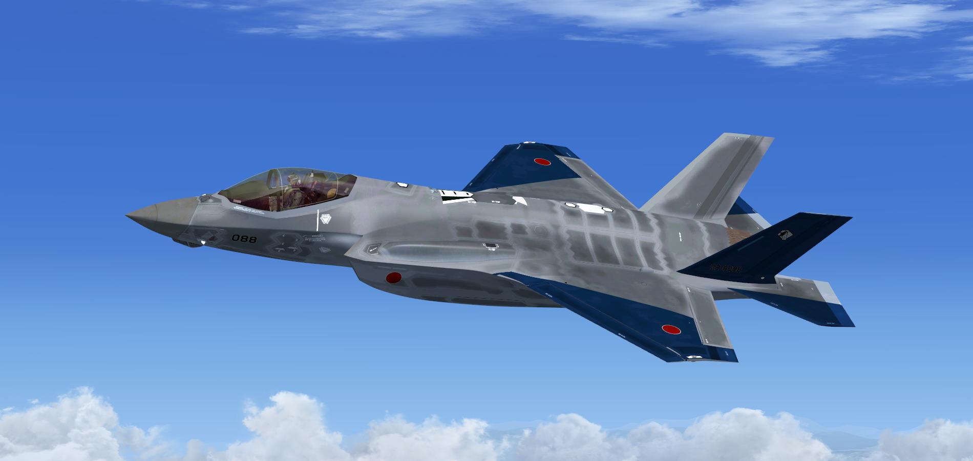 F 35a Jasdf Aggressor Blue 320339586