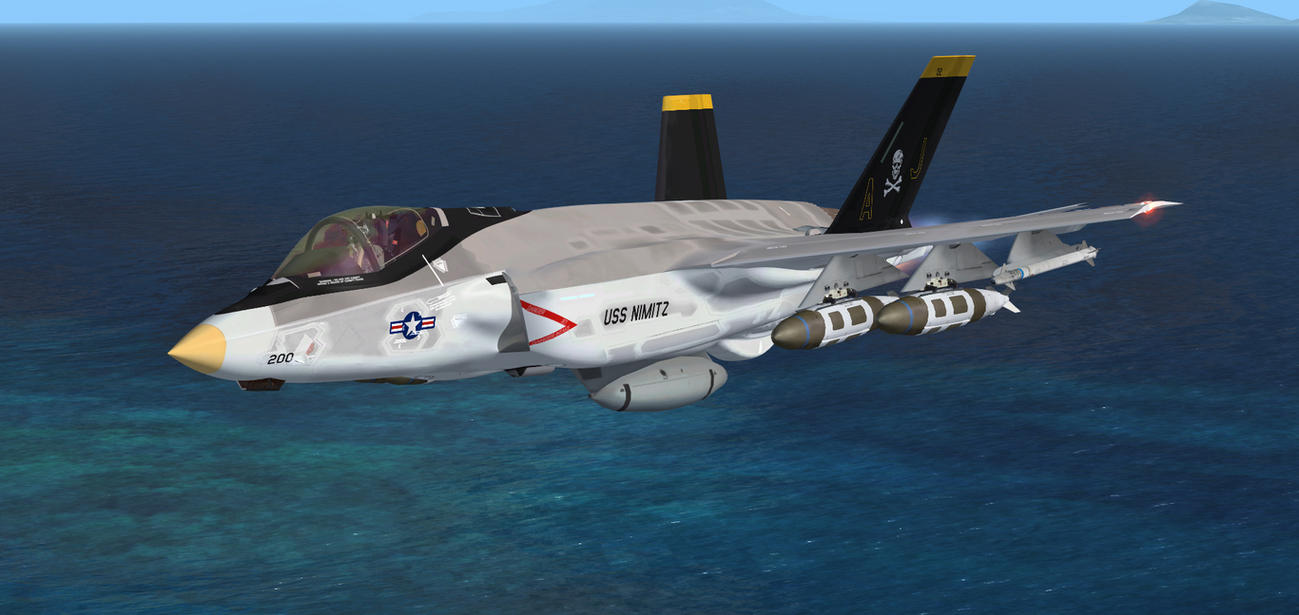 F-35C Jolly Rogers 2 by agnott