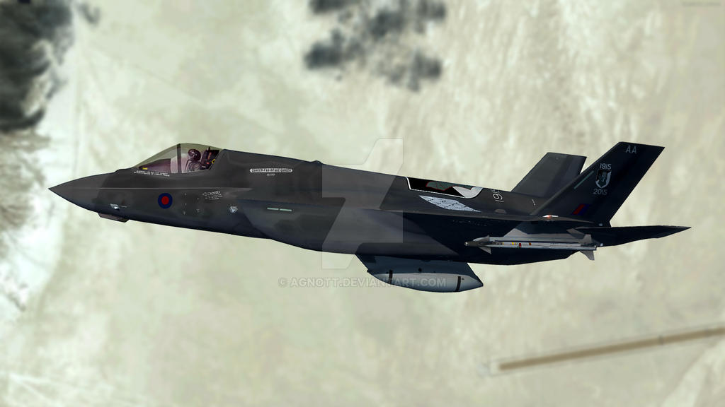 F-35 RAF 17 Sqn 100th Anniversary #3 by agnott