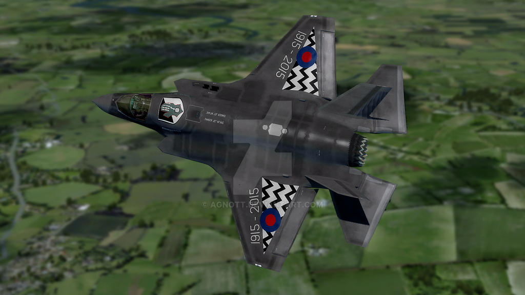 F-35 RAF 17 Sqn 100th Anniversary #1 by agnott