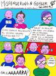 Genderfluid, Genderqueer, Non Binary ,Misgendering
