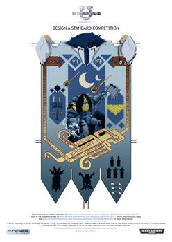 Space wolf banner