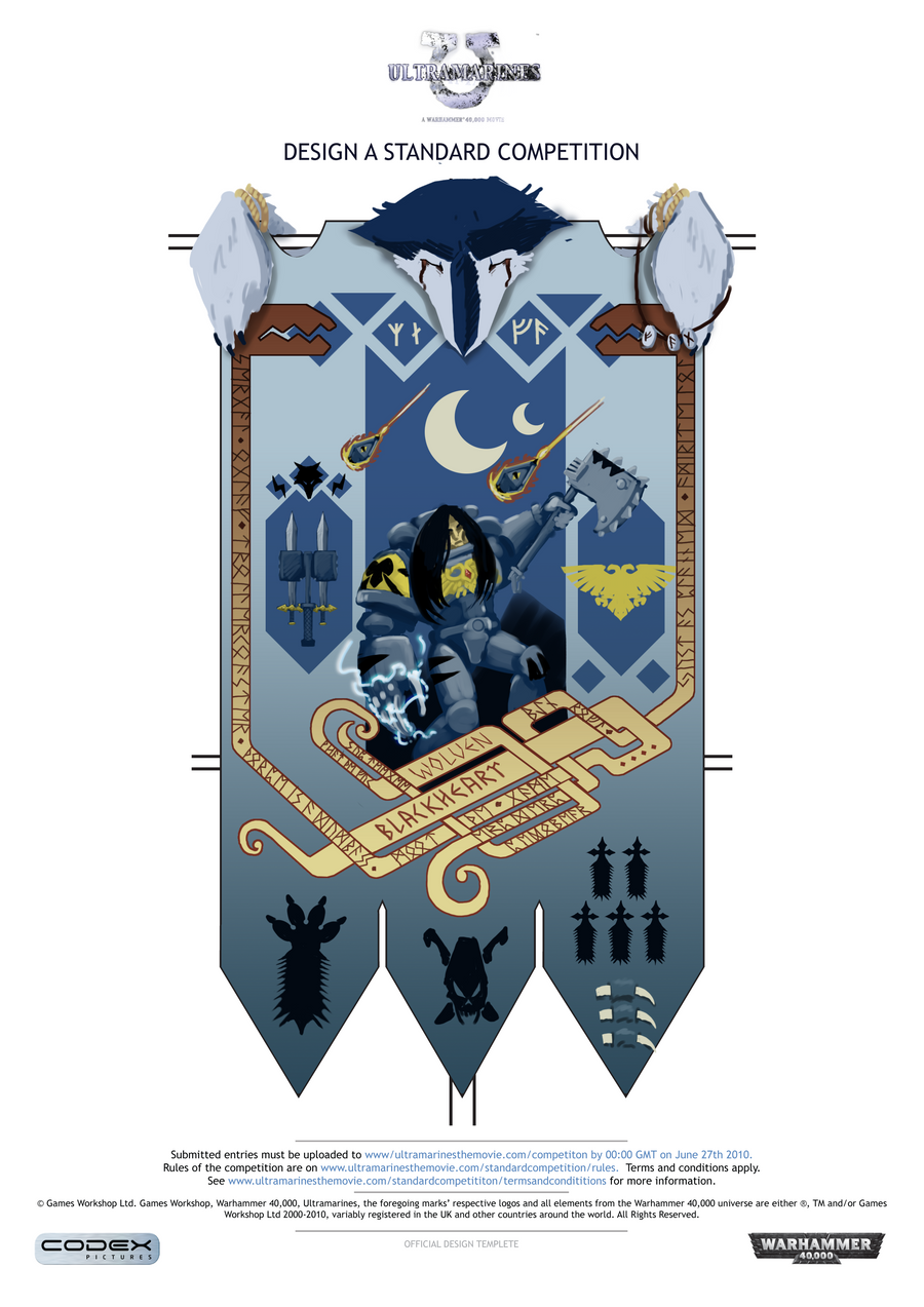 Space Wolves Banners Warhammer 40k B...