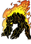 Lava bear by 40-Kun